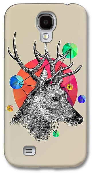 Animation Galaxy S4 Cases - Deer Galaxy S4 Case by Mark Ashkenazi