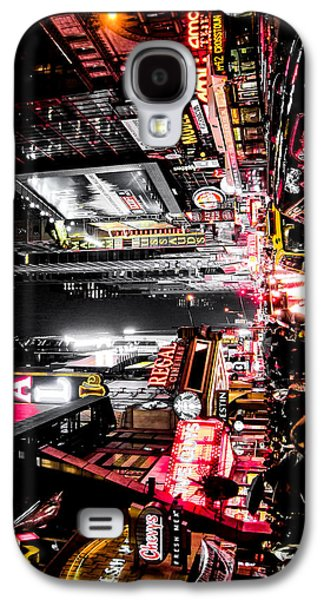 New York City Night II Galaxy S4 Case by Nicklas Gustafsson
