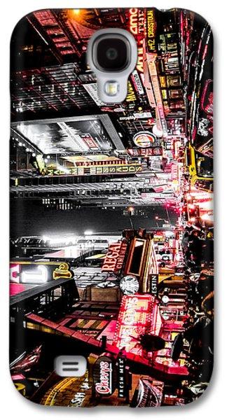 New York City Night II Galaxy S4 Case by Nicklas Gustafsson