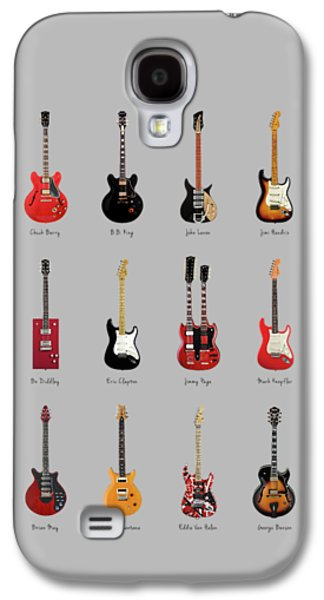 Guitar Icons No1 Galaxy S4 Case by Mark Rogan