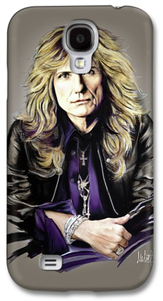 David Coverdale Galaxy S4 Case by Melanie D