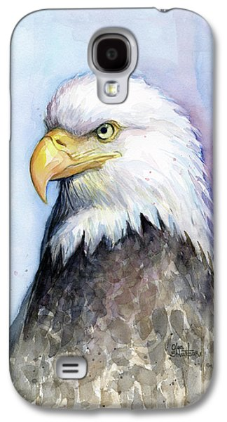 Bald Eagle Portrait Galaxy S4 Case by Olga Shvartsur