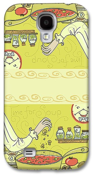 Time For Soup Galaxy S4 Case by Little Bunny Sunshine