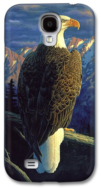 Patriotic Paintings Galaxy S4 Cases - Morning Quest Galaxy S4 Case by Crista Forest