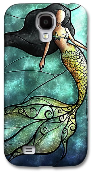 The Mermaid Galaxy S4 Case by Mandie Manzano