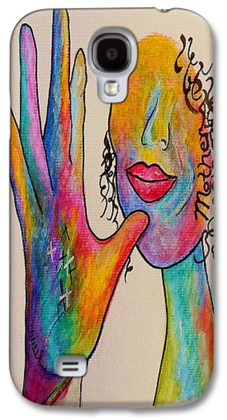 American Sign Language . . .  Mother Galaxy S4 Case by Eloise Schneider