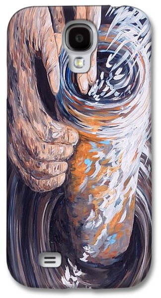 In The Potter's Hands Galaxy S4 Case by Eloise Schneider