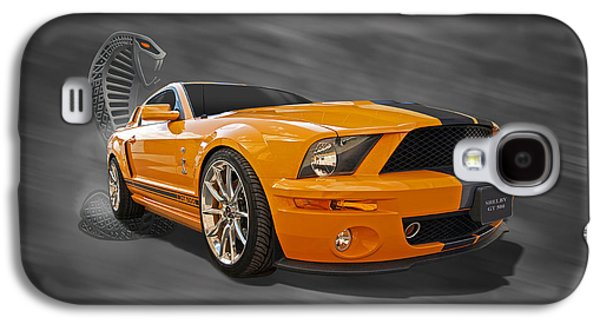 Recently Sold -  - Landmarks Photographs Galaxy S4 Cases - Cobra Power - Shelby GT500 Mustang Galaxy S4 Case by Gill Billington
