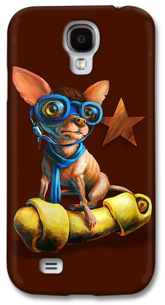 I've Got Mine Galaxy S4 Case by Vanessa Bates