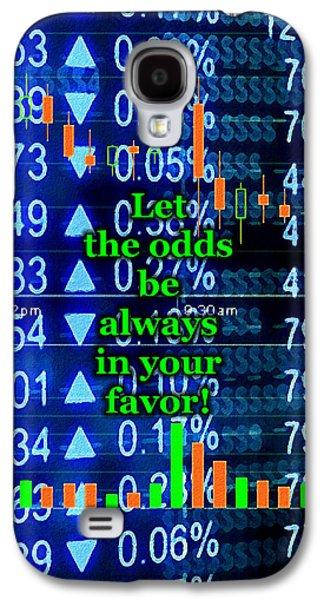 Stock Exchange Galaxy S4 Case by Anastasiya Malakhova