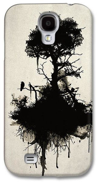 Smoke Digital Galaxy S4 Cases - Last Tree Standing Galaxy S4 Case by Nicklas Gustafsson
