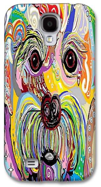 Maltese Puppy Galaxy S4 Case by Eloise Schneider