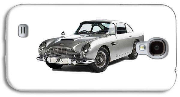 Classic Cars Photographs Galaxy S4 Cases - Aston Martin DB5 Galaxy S4 Case by Mark Rogan