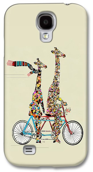 Giraffe Days Lets Tandem Galaxy S4 Case by Bri B