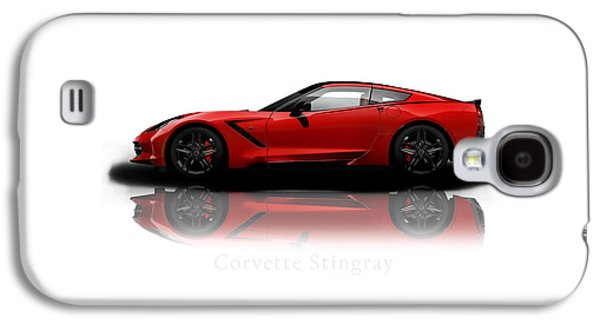 Classic Cars Photographs Galaxy S4 Cases - Chevrolet Corvette Stingray Galaxy S4 Case by Mark Rogan