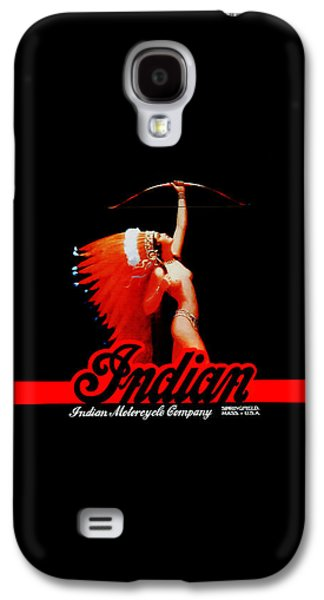 The Indian Motorcycle Company Galaxy S4 Case by Mark Rogan
