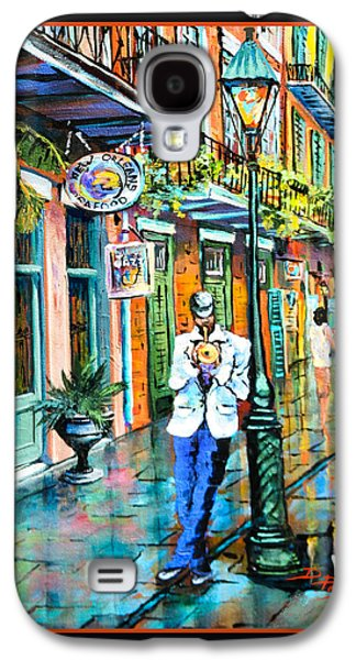 French Quarter Paintings Galaxy S4 Cases - Jazzn Galaxy S4 Case by Dianne Parks