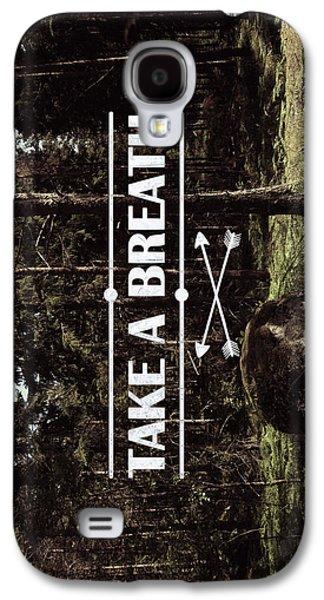 Nature Digital Galaxy S4 Cases - Take a breath Galaxy S4 Case by Nicklas Gustafsson