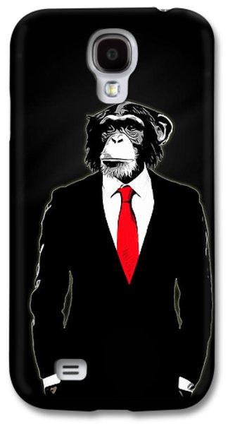 Domesticated Monkey Galaxy S4 Case by Nicklas Gustafsson