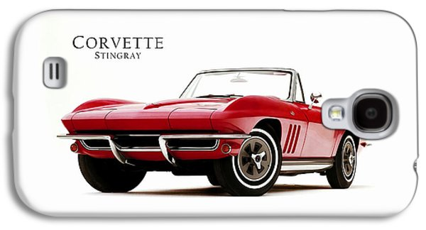 Classic Cars Photographs Galaxy S4 Cases - Chevrolet Corvette 1965 Galaxy S4 Case by Mark Rogan