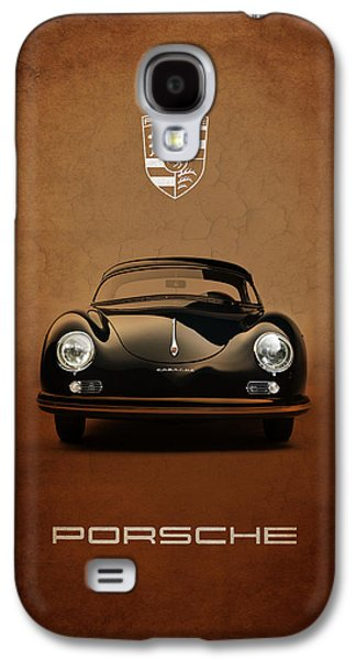 Transportation Photographs Galaxy S4 Cases - Porsche 356 Galaxy S4 Case by Mark Rogan