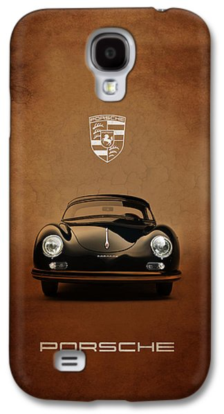 Sports Photographs Galaxy S4 Cases - Porsche 356 Galaxy S4 Case by Mark Rogan
