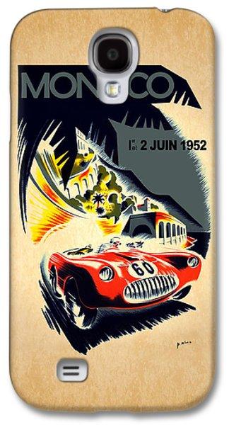 Sports Photographs Galaxy S4 Cases - Monaco 1952 Galaxy S4 Case by Mark Rogan