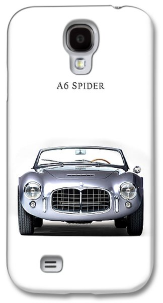 Sports Photographs Galaxy S4 Cases - Maserati A6 Spider Galaxy S4 Case by Mark Rogan