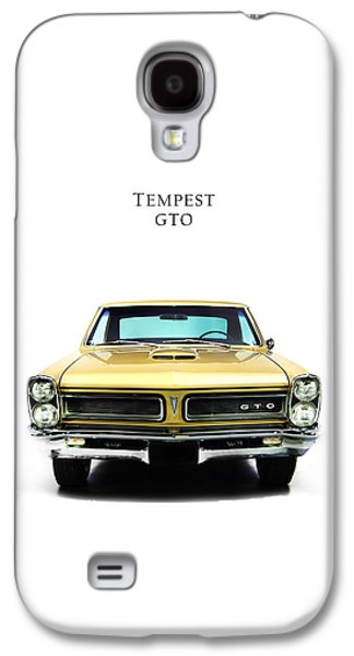 Tempest Galaxy S4 Cases - Pontiac Tempest GTO Galaxy S4 Case by Mark Rogan