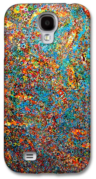 Cosmology Paintings Galaxy S4 Cases - As daylight gives way to dusk Galaxy S4 Case by Scott Richard