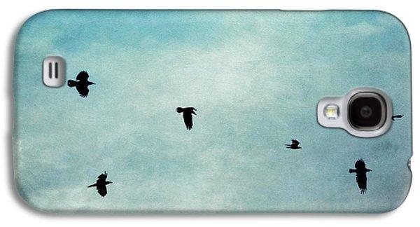 As The Ravens Fly Galaxy S4 Case by Priska Wettstein