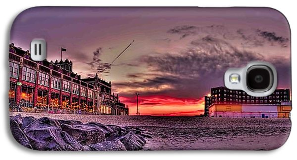 Digital Galaxy S4 Cases - Asbury Park Sunset  Galaxy S4 Case by Geraldine Scull