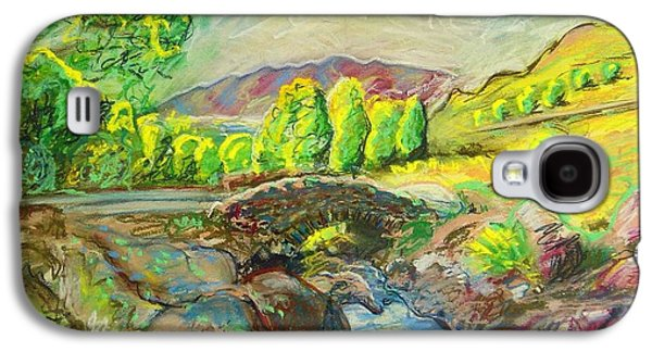Landscape Acrylic Prints Pastels Galaxy S4 Cases - Ashness Bridge Galaxy S4 Case by Frank Hiley
