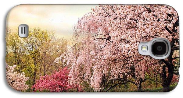 Asian Cherry Grove Galaxy S4 Case by Jessica Jenney