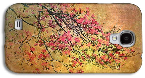 Botanical Digital Art Galaxy S4 Cases - Asian Dogwood Galaxy S4 Case by Jessica Jenney