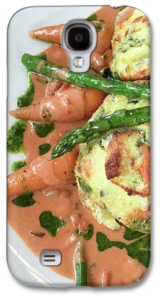 Asparagus Dish Galaxy S4 Case by Tom Gowanlock