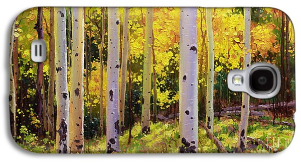 Aspen Galaxy S4 Cases - Aspen Symphony Galaxy S4 Case by Gary Kim