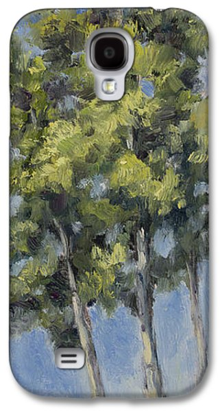Landscape Acrylic Prints Galaxy S4 Cases - Aspens Galaxy S4 Case by Julie Rumsey