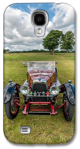 Car Mascot Digital Galaxy S4 Cases - Aston Martin  Galaxy S4 Case by Adrian Evans