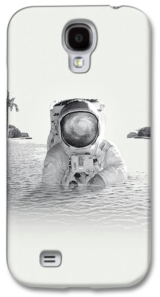 Astronaut Galaxy S4 Case by Fran Rodriguez