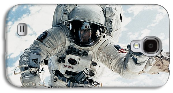 Astronomy Galaxy S4 Cases - Astronaut Galaxy S4 Case by Nasa