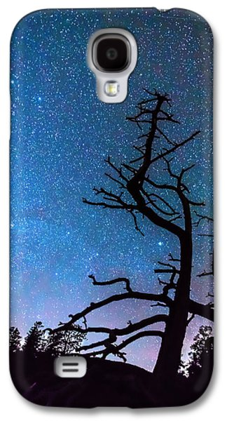 Abstract Landscape Galaxy S4 Cases - Astrophotography Night Galaxy S4 Case by James BO  Insogna