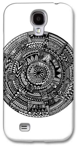 Asymmetry Galaxy S4 Case by Elizabeth Davis