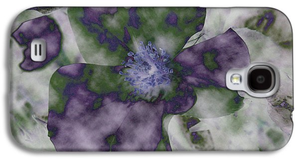 Best Sellers -  - Abstract Digital Mixed Media Galaxy S4 Cases - At Peace Galaxy S4 Case by Bonnie Bruno