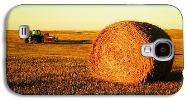 Hayfield Galaxy S4 Cases - At the end of day Galaxy S4 Case by Jeff  Swan