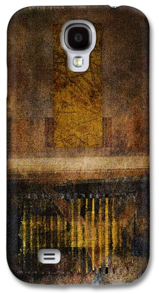 Rectangles Digital Galaxy S4 Cases - At the Gate Photomontage Galaxy S4 Case by Carol Leigh