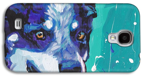 Cattle Dog Galaxy S4 Cases - At the Heel Galaxy S4 Case by Lea
