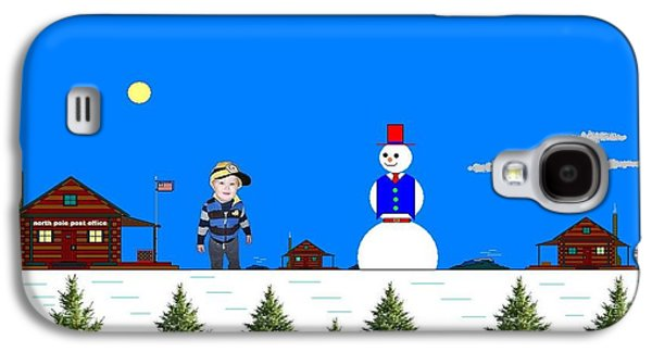 At The North Pole.  Galaxy S4 Case by Richard Magin