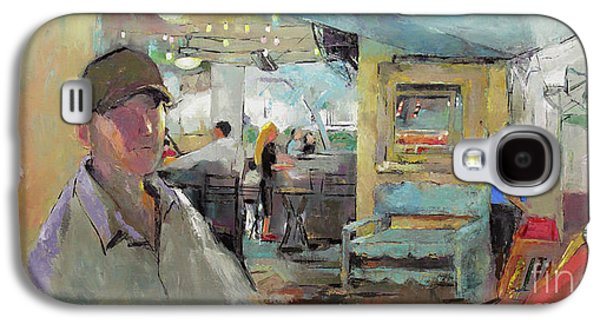 At The Restaurant Galaxy S4 Case by Becky Kim