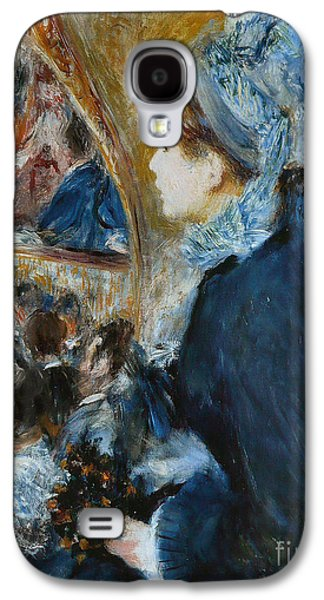 At The Theater Galaxy S4 Case by Pierre Auguste Renoir